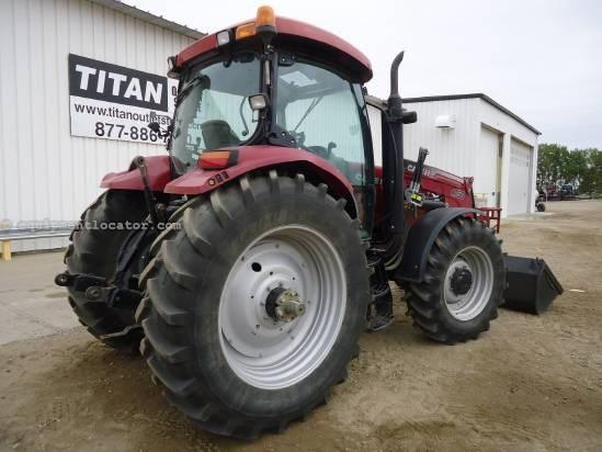 2008 Case IH MAXXUM 125 Tractor For Sale
