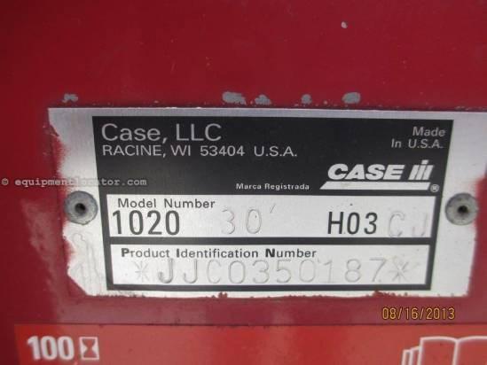 2004 Case IH 1020, 30', (2188/2366/2388), Partial Finger Header-Flex For Sale