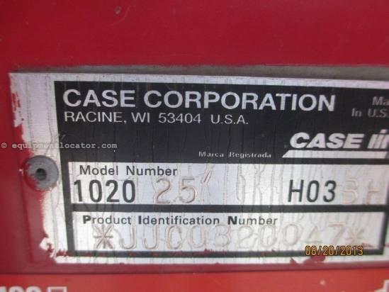 1999 Case IH 1020,25', (2166/2188/2366/2388), FT, Poly,Fore/Aft Header-Flex For Sale