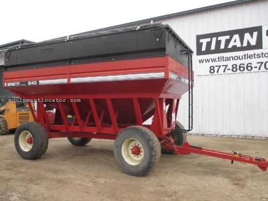 1997 Brent 640, 640 Bu, Tarp Grain Cart For Sale