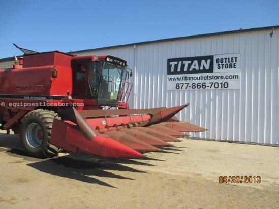 1991 Case IH 1083, 8R30, (1680/2166/2388), Knife Rolls Header-Corn For Sale