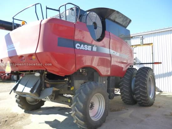 2004 Case IH AFX8010, 1556 Sep Hr, FT, Fore/Aft, AHH, Chopper Combine For Sale