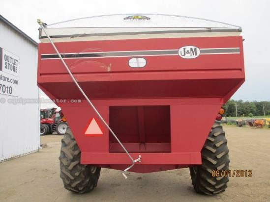 "1999 J & M 750,16"" Auger, Light Pkg, Hyd Auger Fold, Tarp  Grain Cart For Sale"