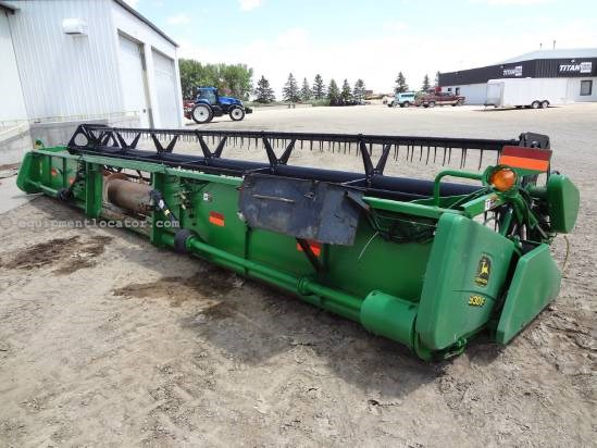 2000 John Deere 930F - 30ft, AHHC (9610,9650,9750) Header-Flex For Sale