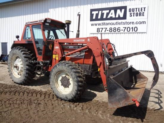 1991 Hesston 140 Tractor For Sale