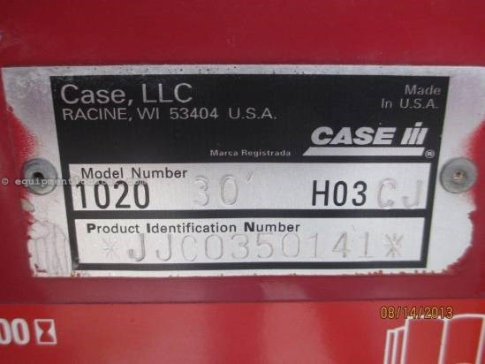 2004 Case IH 1020 30', (2188/2366/2388), FT, HHC, Fore/Aft Header-Flex For Sale