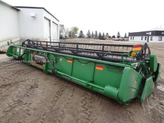 2001 John Deere 930F - 30 ft, Poly Snouts (9550,9650,9750) Header-Flex For Sale