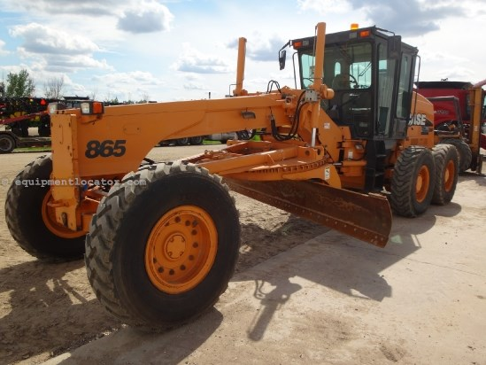 2005 Case 865DHP - New Frt Tires, Serviced, Ready to Go Motor Grader For Sale