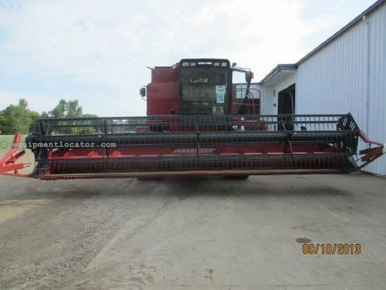 1995 Case IH 1020,25',(2166/2188/2366/2388),Fore/Aft, Poly, HHC Header-Flex For Sale