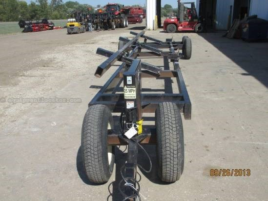 PK Mfg 30 TRANSPORT, 30', Tandem Axle, Frame good Header Trailer For Sale