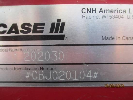 2005 Case IH 2020, 30', FT, HHC, Fore/Aft,  7010/7088/8010/7120 Header-Flex For Sale