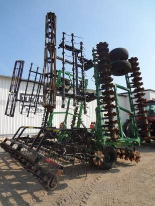 2011 Summers SuperCoulter Plus - 40 ft, Harrow, Rolling Baskets Vertical Tillage For Sale