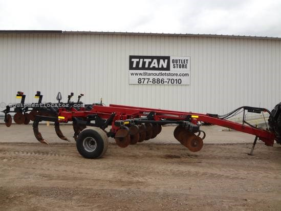 2007 Case IH 530C - 5 Shank, Disc Closers Disk Ripper For Sale
