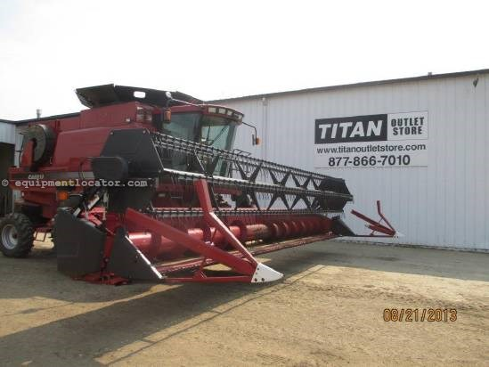2008 Case IH 1020, 30', (2188/2366/2388), FT, Full Finger, Poly Header-Flex For Sale