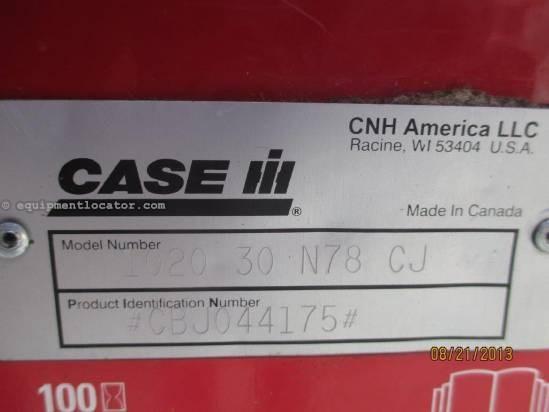 2008 Case IH 1020, 30', (2188/2366/2388), FT, Full Finger, Poly Header-Flex For Sale