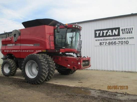 2007 Case IH AFX8010, UPTIME READY!, 1182 Sep Hr, FT, Chopper Combine For Sale