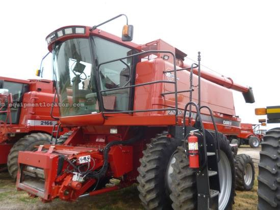 2007 Case IH 2588,1740 Sep Hrs, FT, AHH, RT, UPTIME READY Combine For Sale