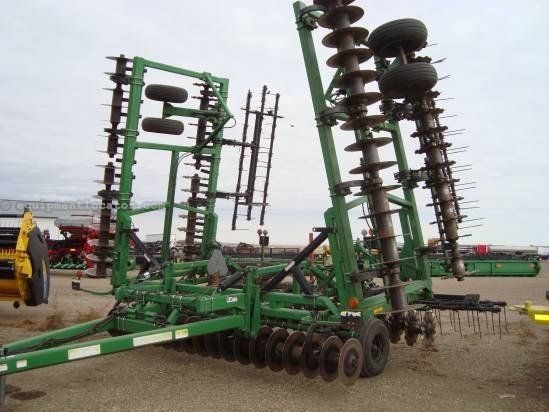 2004 Summers SuperCoulter Plus - 40 ft, Straight Front, Wavey Vertical Tillage For Sale