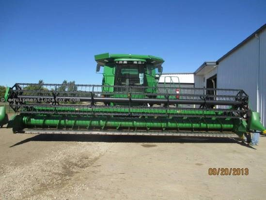 2007 John Deere 630F, 30', HHC, (9650/9660/9670),Auto Rl Spd, Poly Header-Flex For Sale