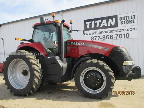 2011 Case IH MAG260, 239 Hr, PS Trans, 4 Remotes, 3 Pt Hitch Tractor For Sale