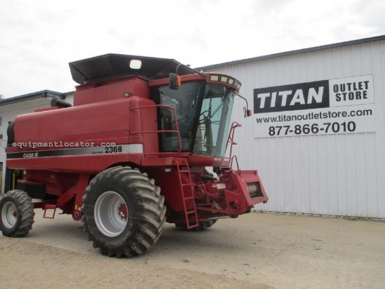 1998 Case IH 2366, 2343 Sep Hr, Spec Rotor, HD Axle, AHH Combine For Sale