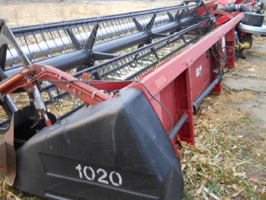1992 Case IH 1020 - 25', AirBar (1666,2166,2366,1688,2188,2388) Header-Flex For Sale