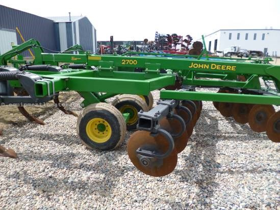 2008 John Deere 2700 - Closing Discs, 7 shank  Disk Ripper For Sale