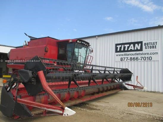 2001 Case IH 1020, 30',(2188/2366/2388),FT, HHC, Fore/Aft  Header-Flex For Sale