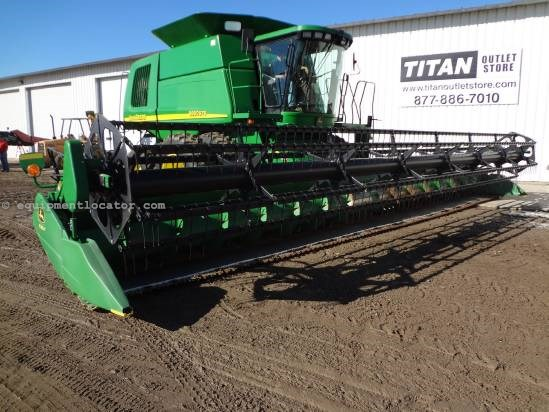 2010 John Deere 635F - 35 ft, Contour (9660,9760,9860,9770,9870) Header-Flex For Sale