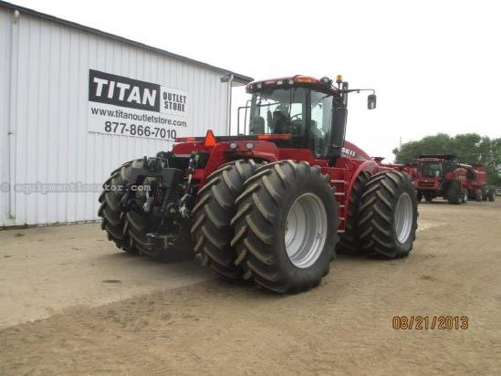2011 Case IH Steiger STX500, 409 Hrs,PS,PTO,3 Pt,6 Remotes,Wts Tractor For Sale
