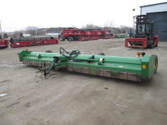 2008 John Deere 520, 20', Big 1000 PTO, Knives good Stalk Chopper For Sale