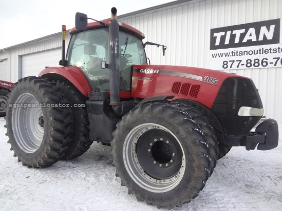 2009 Case IH Magnum MX305 - 2359 hrs, F&R Duals, Full AutoSteer Tractor For Sale