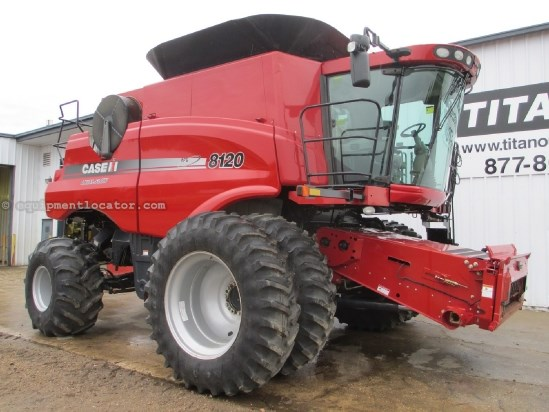 2011 Case IH AF8120, 1034 Sep, Warranty*, RWA, Elec Mirrors Combine For Sale