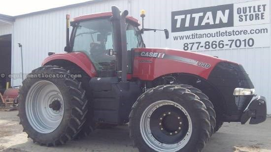 2012 Case IH Magnum MX340, 1298 Hrs, 4 Rear Remotes, Powershift Tractor For Sale