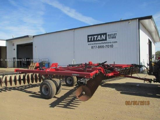 2010 Case IH RMX340, 31', Est. 900 Acres, Scrapers,Hyd Leveling Disk Harrow For Sale