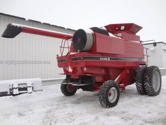 1998 Case IH 2388 - Sep Hrs 3280, Dls, RT, Chopper Combine For Sale
