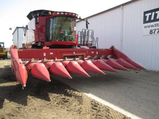 2010 Case IH 3408, 8R30, FT, HHC, Knife Rls,7010/7120/8010/8120 Header-Corn For Sale