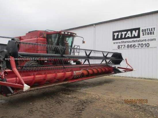 1998 Case IH 1020, 30', 1688/2188/2366/2388, FT Header-Flex For Sale