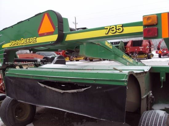 2006 John Deere 735 Mower Conditioner For Sale