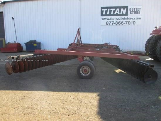 1989 Case IH 496, 33', Solid Blade, Tandem, Furrow Filler Disk Harrow For Sale