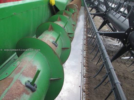2005 John Deere 635, 35', Crary Reel, FT, HHC, 9760/9860/9770/9870 Header-Flex For Sale