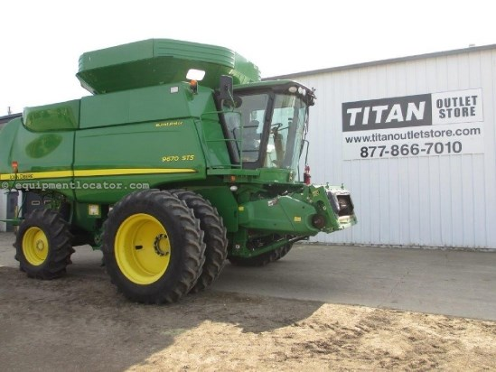 2010 John Deere 9670, UPTIME READY!, 699 Sep Hrs, Contour, RT Combine For Sale
