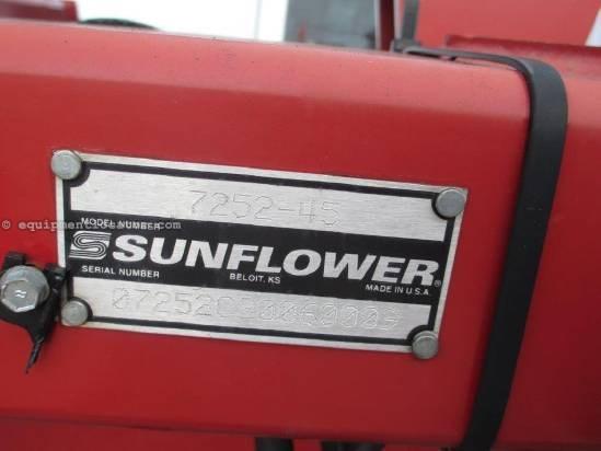 Sunflower 7552, 45', Rolling Bskts, Cushion Gang, Dbl Fold Tillage For Sale