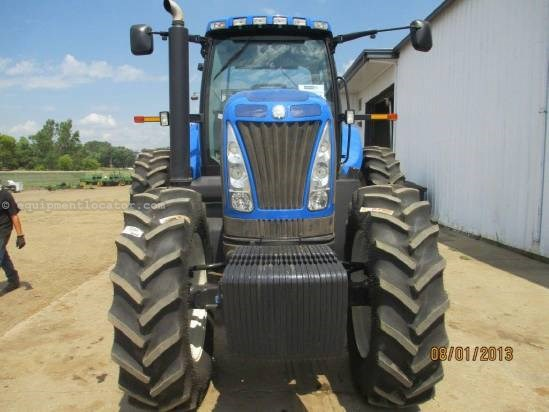 2010 New Holland T8020, 900 Hr, 5 Remotes, 3 Pt, Wts  Tractor For Sale