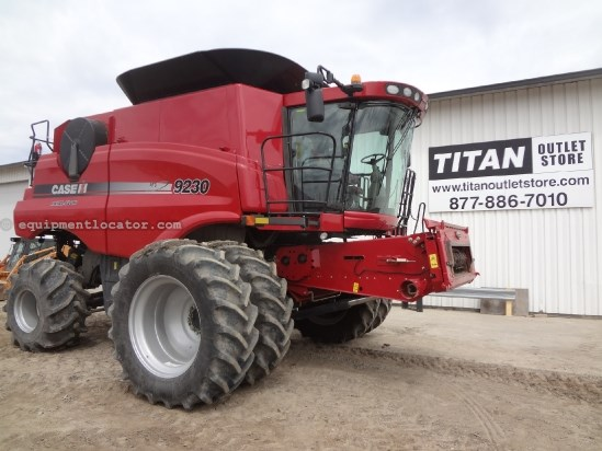 2012 Case IH AF9230 - Sep Hrs 408, 620R42 Dls, Pro700-NavII-262 Combine For Sale