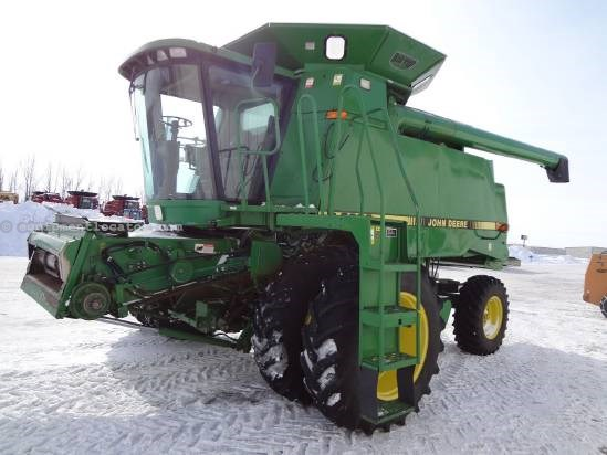 1991 John Deere 9600 Combine For Sale