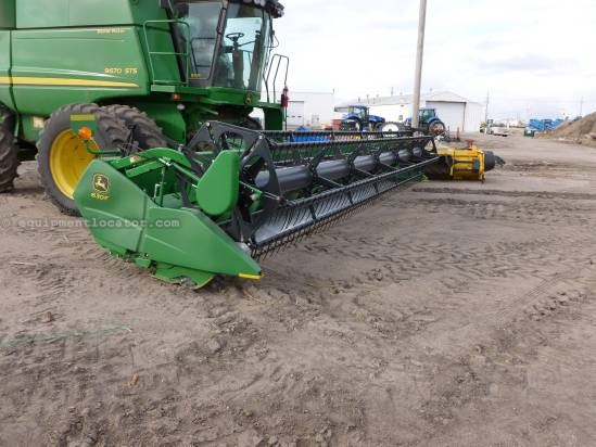 2012 John Deere 630,30',HHC,Contour, 9660/9760/9860/9670/9770/9870 Header-Flex For Sale