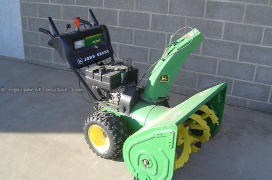 John Deere 1032D Snow Blower For Sale on John Deere 826 Snow Blower For Sale