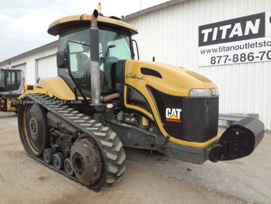 "2006 Caterpillar MT765B - 3365 hrs, 18"", 5 hyd, PTO, AutoSteer Tractor For Sale"