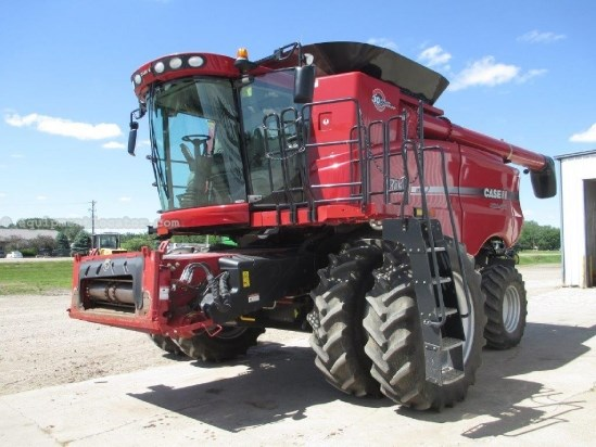 2007 Case IH AFX7010, 1442 Sep Hr, UPTIME READY,  Spec Rotor Combine For Sale
